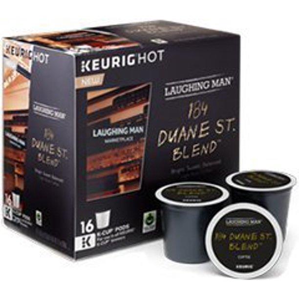 Laughing Man 184 Duane St. Blend Coffee Keurig K-Cups, 16 ...