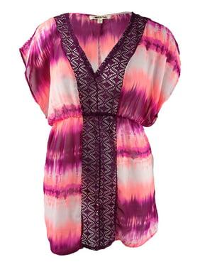 ed958c0a4c Product Image Miken Juniors Tie-Dyed Crochet-Trim Cover-Up