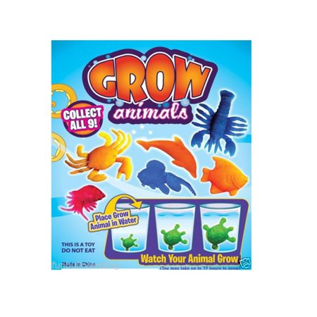 WHOLESALE * 100 PCS * GROW IN WATER SEA CREATURES * VENDING * PARTY FAVORS * HUG, This listing is for 100 GROW IN WATER SEA CREATURES. By Unbranded - Promo Code For Wholesale Party Supplies