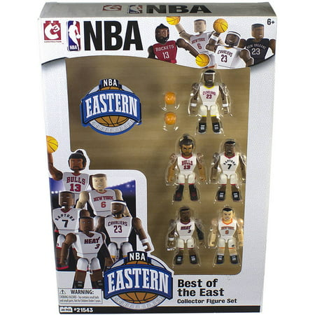 C3 NBA Figures, Best of the East, Pack of the 5