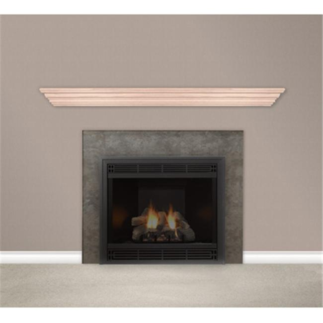 Empire Comfort Systems HWMS72UO Housewarmer 72 in. Unfinished Mantel Shelf With Classic Styling