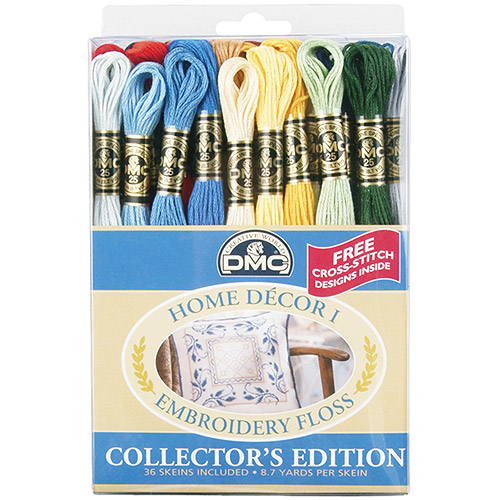 DMC Embroidery Floss Pack, Home Decor