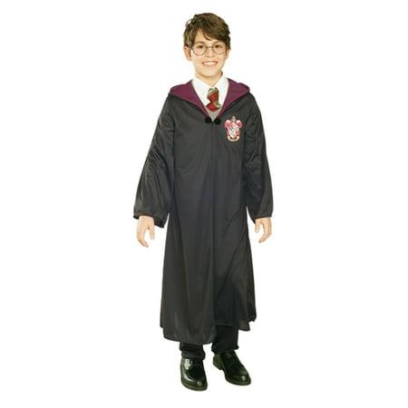 Harry Potter Boys Wizard Hooded Robe Halloween Costume Small 4-6 - Wizard Robe