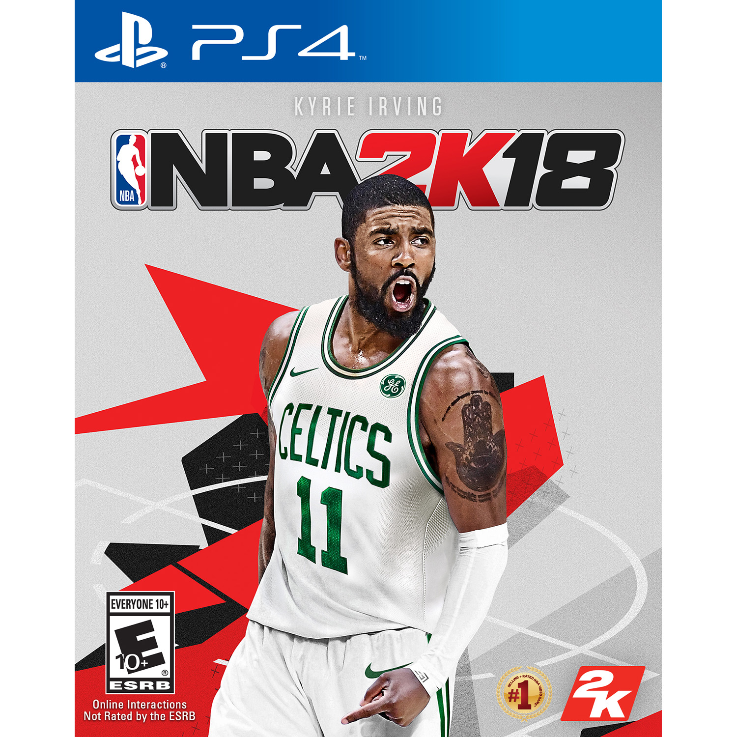NBA 2K18, 2K, PlayStation 4, PRE-OWNED, 886162299687