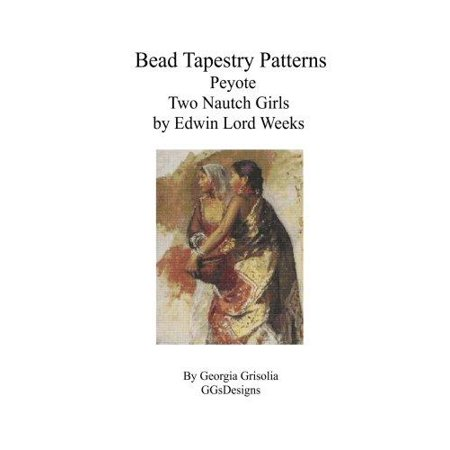 Bead Tapestry Patterns Peyote Two Nautch Girls by Edwin Lord Weeks - image 1 de 1