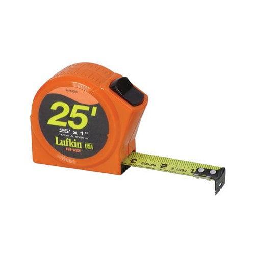 Cooper Tools Hi-Viz  Series 1000 Power Return Tapes - 1/2''x12' hi-viz orange power tape