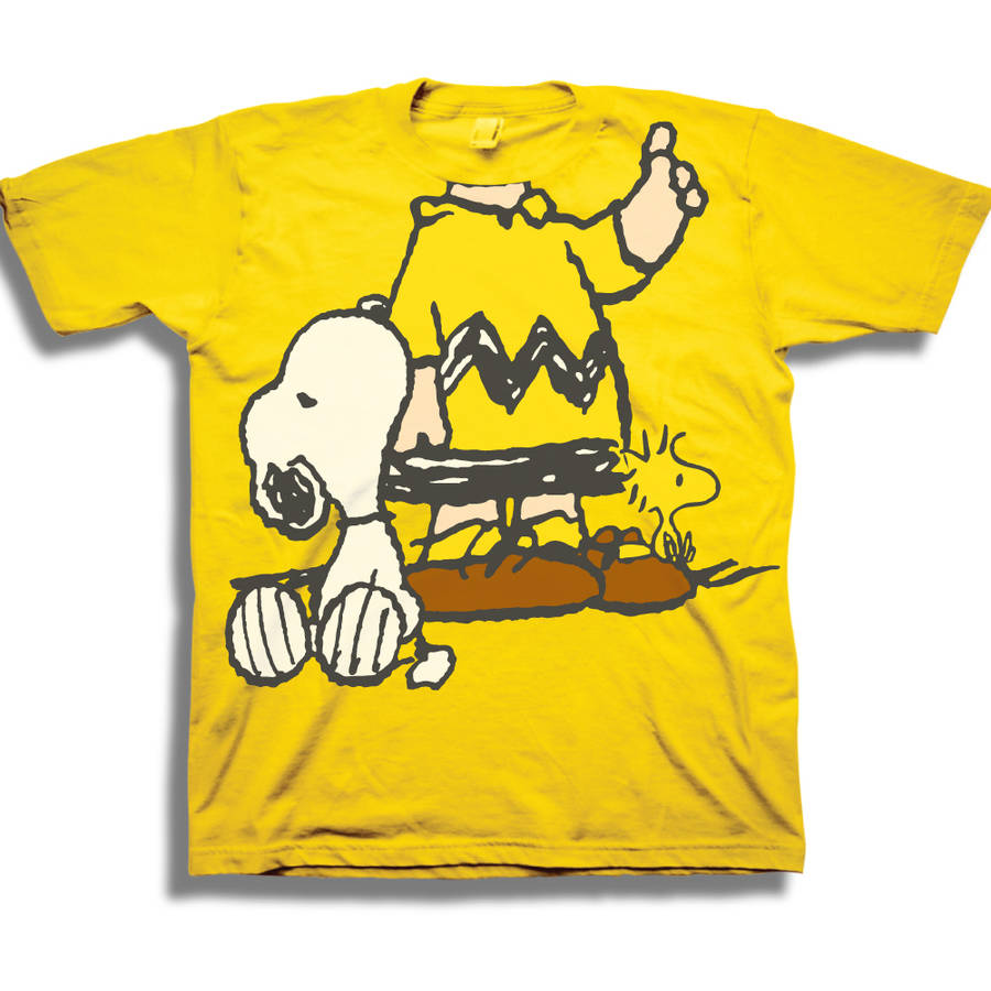 Peanuts Charlie Headless Toddler Boy Short Sleeve T-Shirt