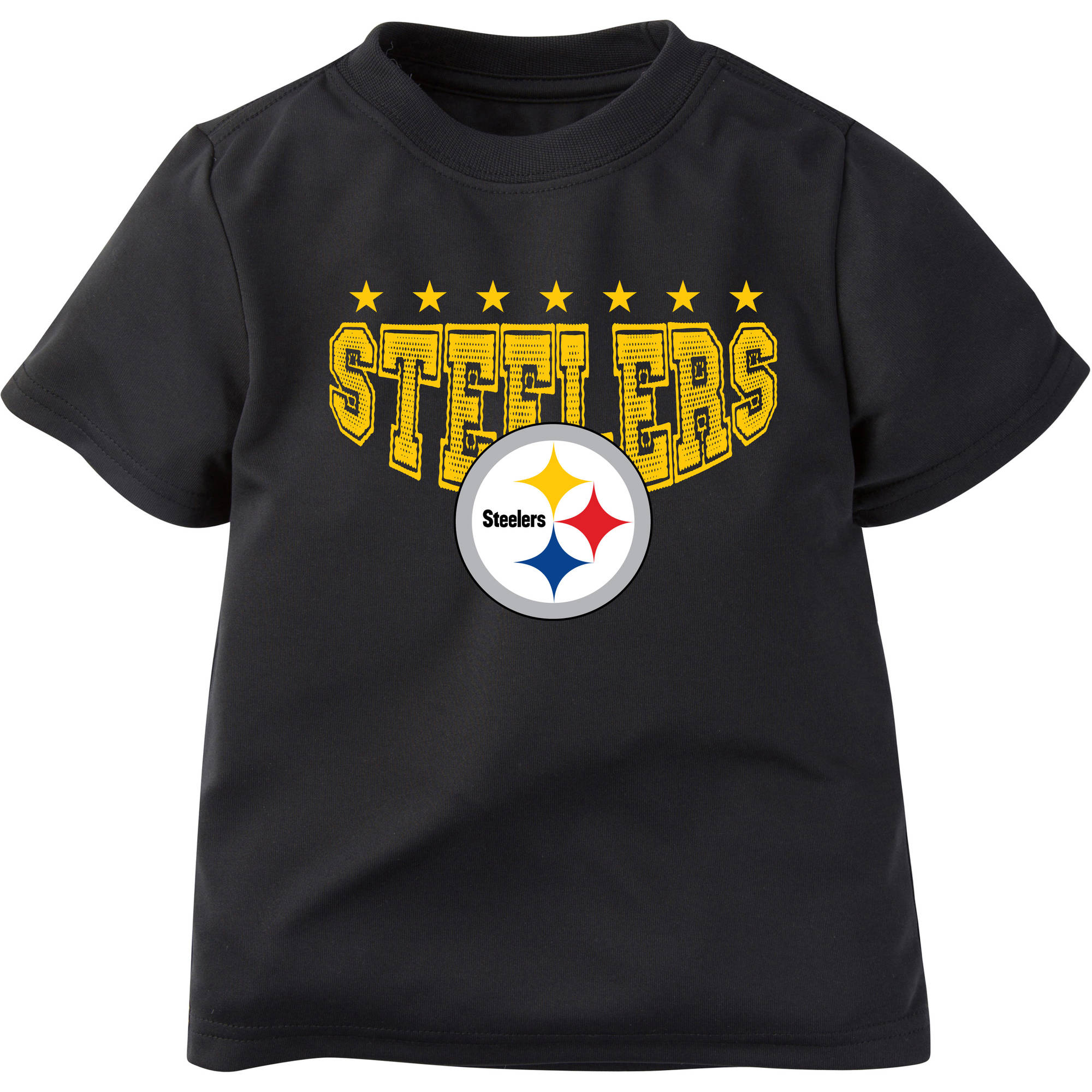 NFL Pittsburgh Steelers Boys Short Sleeve Performance Team T Shirt