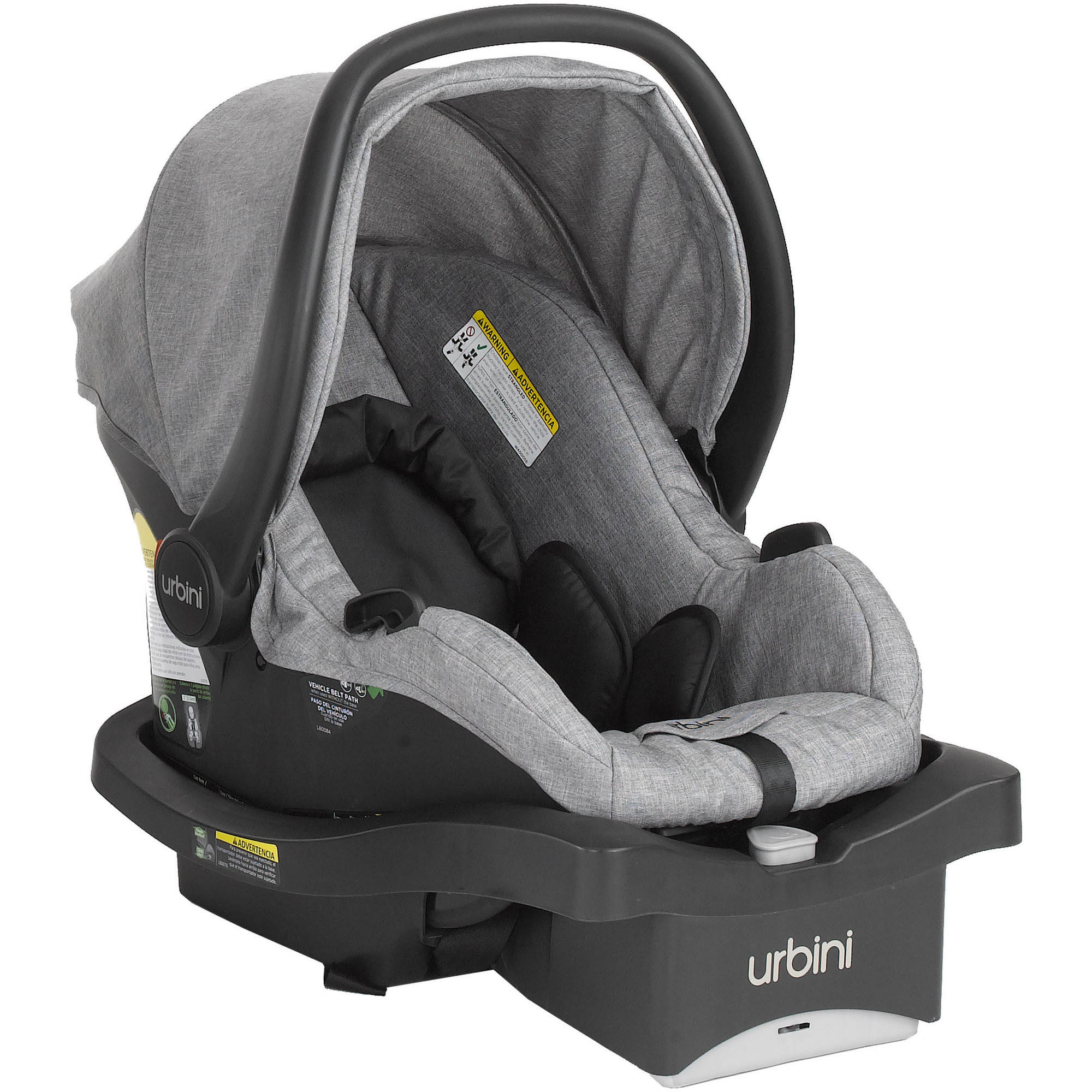 Urbini Sonti Infant <mark>Car</mark> <mark>Seat</mark> (Special Edition), Heather Grey