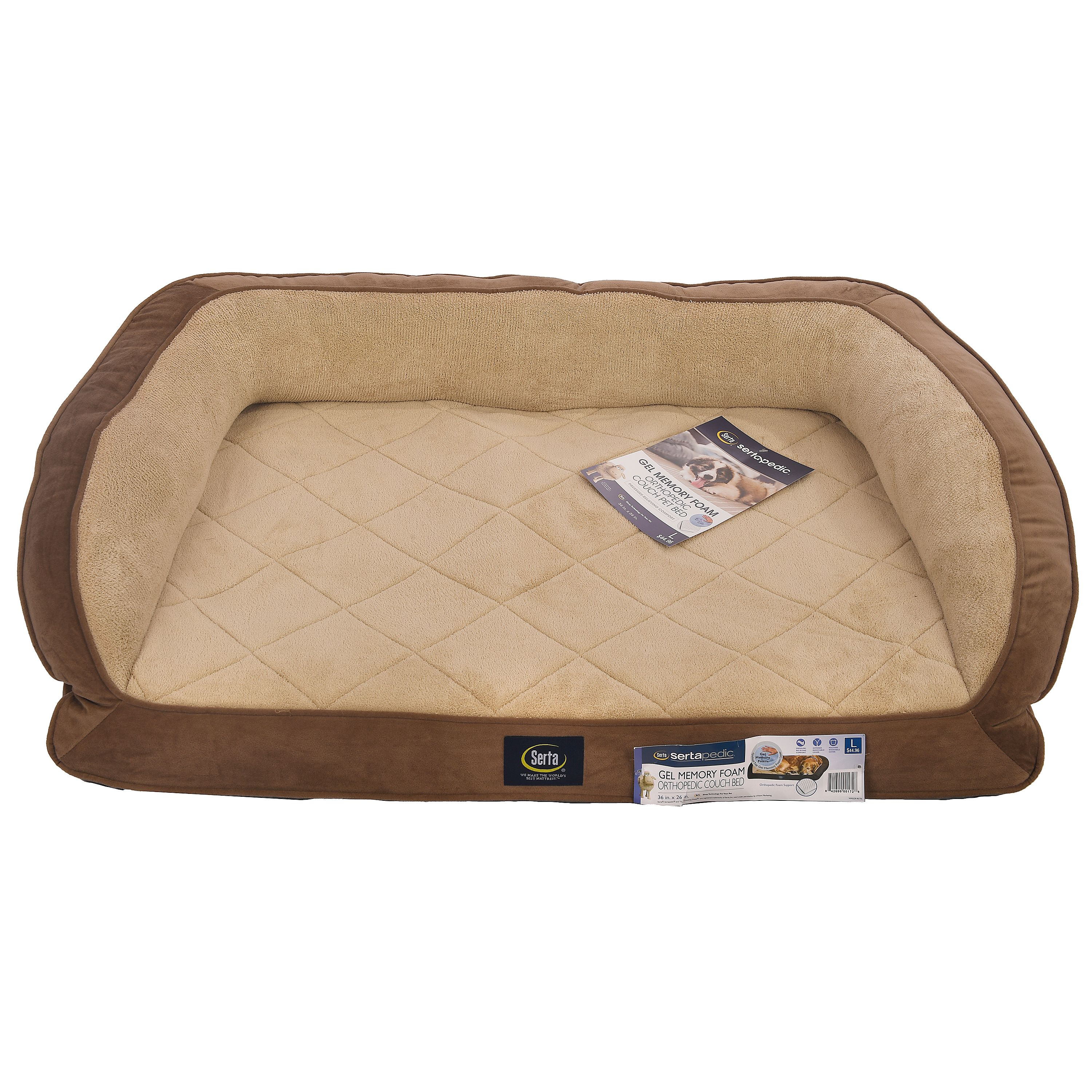 pet beds supplies dog product rest bed overstock free simmons colossal shipping today foam beautyrest orthopedic memory