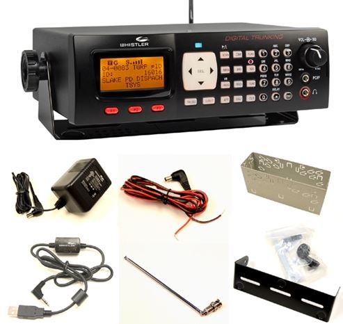 New Whistler WS-1065 Digital Base Mobile UHF VHF Police Scanner Fire Safety Skyw by Whistler