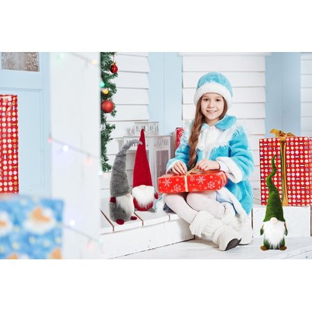 best large handmade christmas eve gifts home decoration ornaments holiday decorations gnome decor angel figurines gift