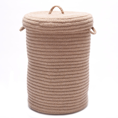 Colonial Mills Wool Blend Hamper with Lid