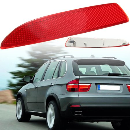 Rear Bumper Reflector Red Left / Right Side For BMW X5 E70 2007-2013 63217158950