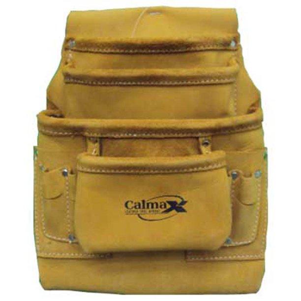 Leather Carpenter Tool Bag with 10 Pockets - AT1101-86 - Walmart.com - Walmart.com