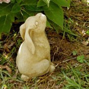 Small Sitting Bunny Garden Statue