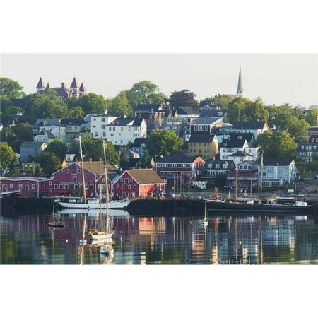 Design Pics Dpi2429668 A Canadian Port Town On Mahone Bay   Lunenburg Nova Scotia Canada Poster Print  44  19 X 12