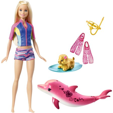 Barbie® Dolphin Magic Snorkel Fun Friends