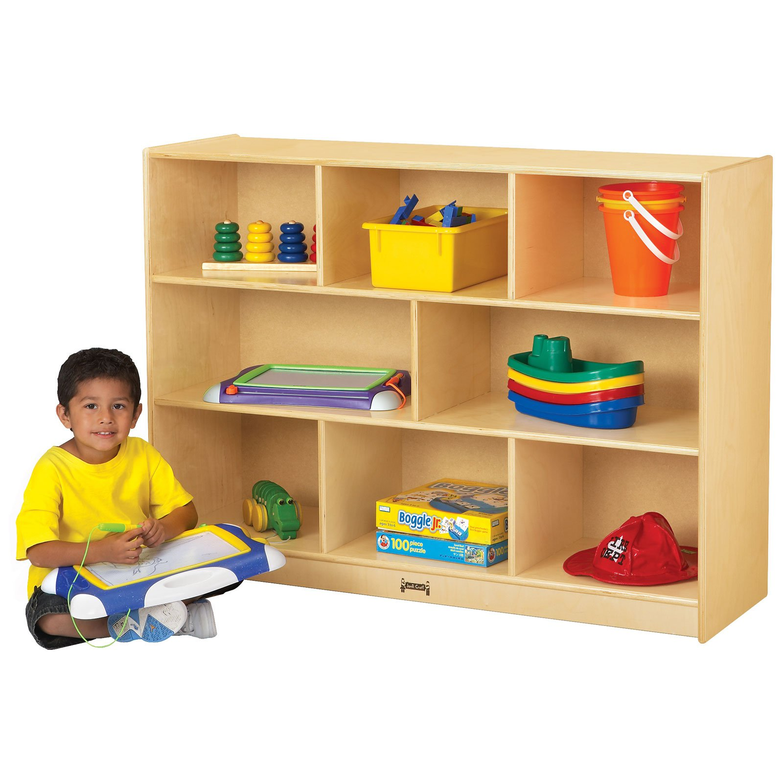 Jonti-Craft Super-Sized Single Storage Bookcase