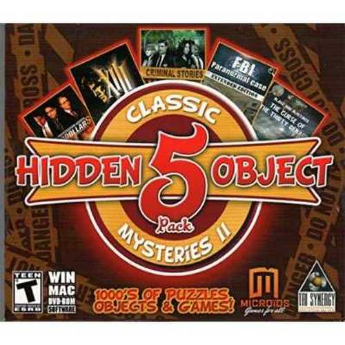 HIDDEN OBJECT MYSTERIES 2