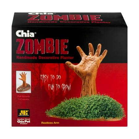Chia Zombie - Restless Arm - Chia Pet Halloween