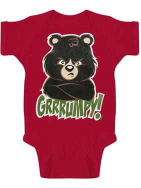 f44f5798172e6 Product Image Toddlers Grrrumpy Bear Bodysuit
