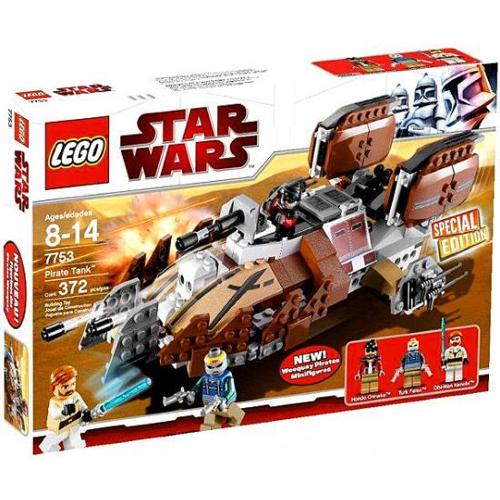 Lego Star Wars The Clone Wars Pirate Tank Exclusive Set #7753 by