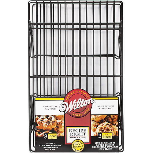 Wilton Recipe Right 3-Tier Non-Stick Cooling Grid 2105-948 by Wilton