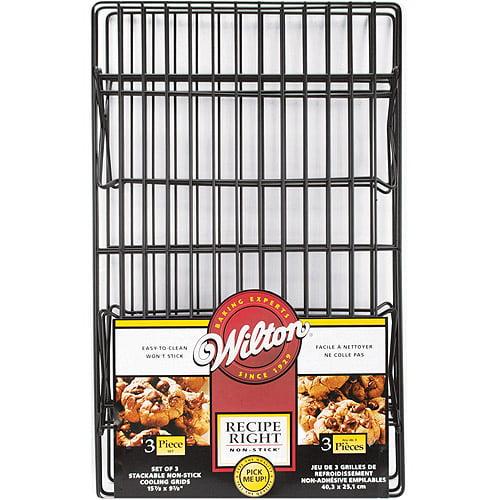 Wilton Recipe Right 3-Tier Non-Stick Cooling Grid 2105-948