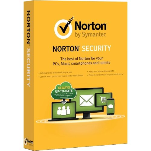 Symantec Security Standard Box Pack 1 PC Mac 21353175 by Symantec Corporation