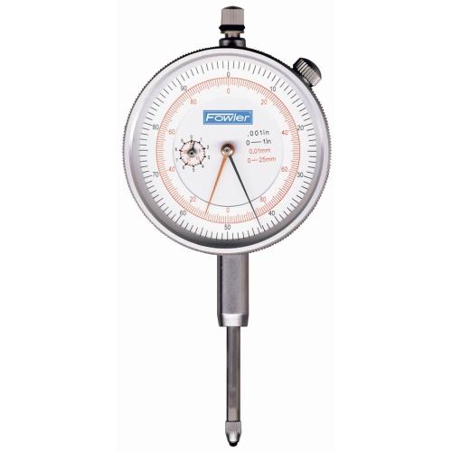 Fowler 72-530-110 Dial Indicator with Metric / SAE