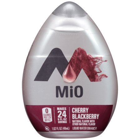 (12 Pack) MiO Cherry Blackberry Liquid Water Enhancer, 1.62 fl oz