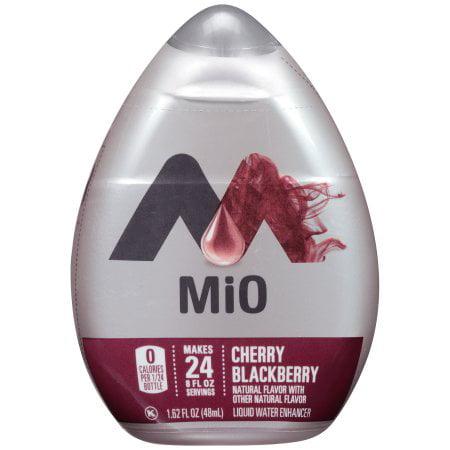 (2 Pack) MiO Cherry Blackberry Liquid Water Enhancer, 1.62 fl oz Bottle