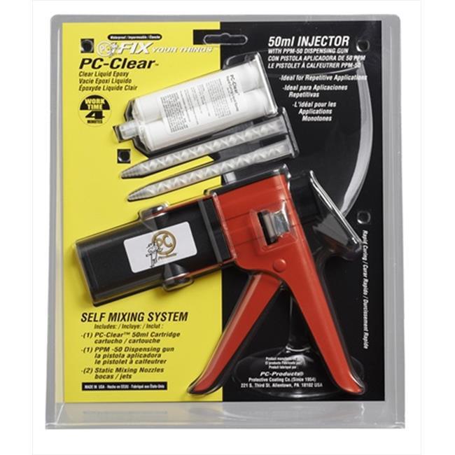 Protective Coating 075036 50 ml Clear Liquid Epoxy Kit