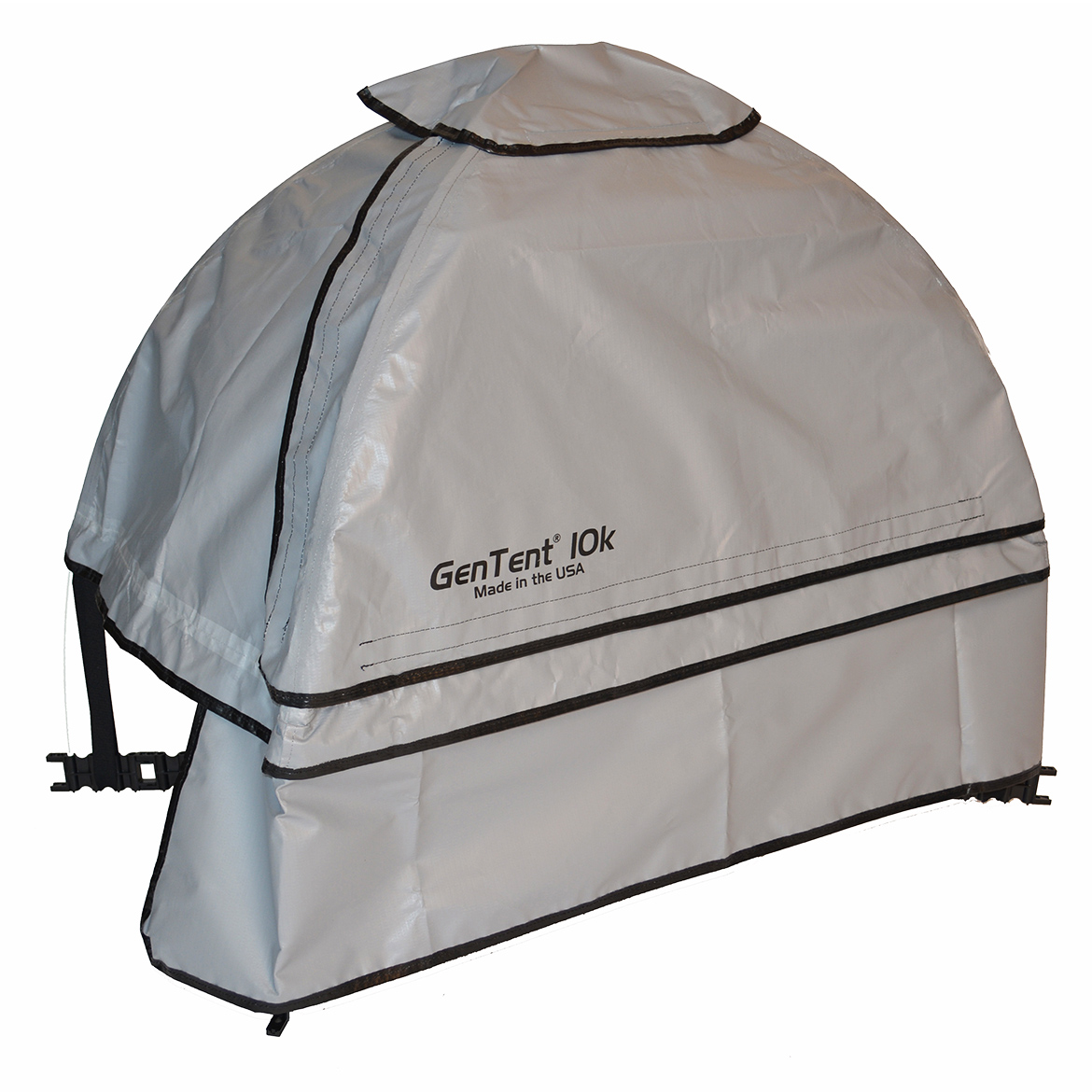 GenTent 10k Stormbracer Edition For 1000W-3000W Inverters Generator Grey Skies Canopy Safety Tent- Made In USA