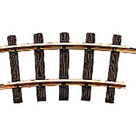 LGB G Scale Track System - R1 Curved Track Section - 4.25ft Diameter/15 Degrees