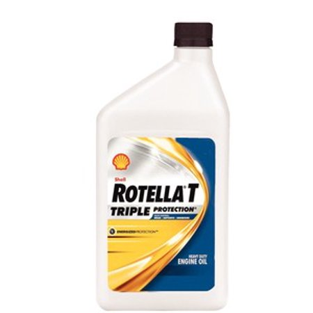 Shell Rotella T4 >> Shell Oil Rotella T 15W40 CJ4 QT 550019905 - Walmart.com