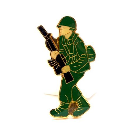 Wholesale Lapel Pins (Wholesale Lot of 12 US Army Man Soldier Lapel Hat Pin Military)