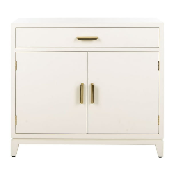 Safavieh Nigel 2 Door 1 Drawer Chest, White