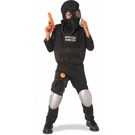 Special Forces Officer Boys' Child Halloween Costume](Kids Black Swan Costume)
