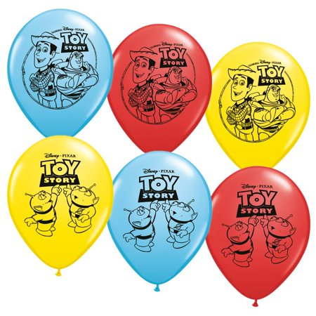 """Toy Story 12"""" Latex Balloons (6 Pack) - Party Supplies"""