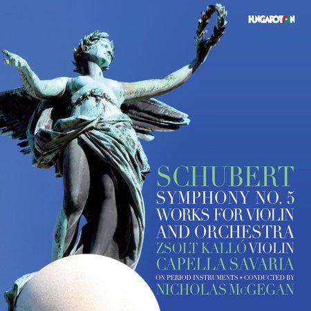 Schubert   Kallo   Mcgegan   Schubert  Symphony 5   Works For Violin    Cd