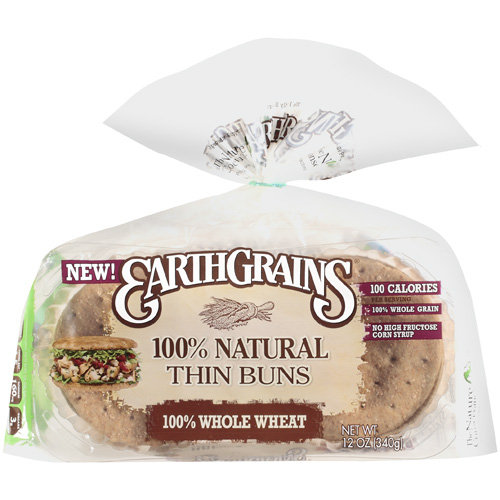 Sara Lee Earth Grains 100% Ww Thins