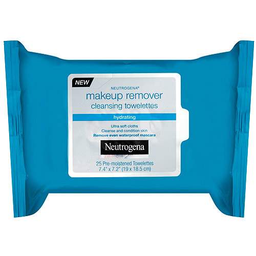 Neutrogena Hydrating Makeup Remover Towelettes, 25 ct