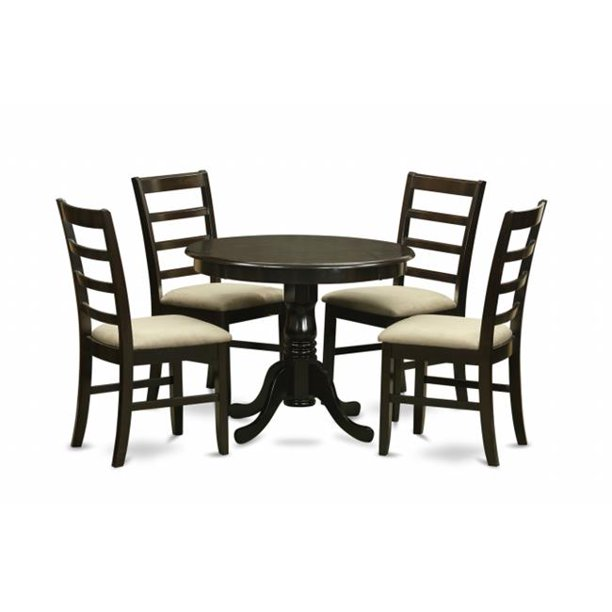 5 Piece Kitchen Table Set Small Table Plus 4 Kitchen Chairs Walmart Com Walmart Com
