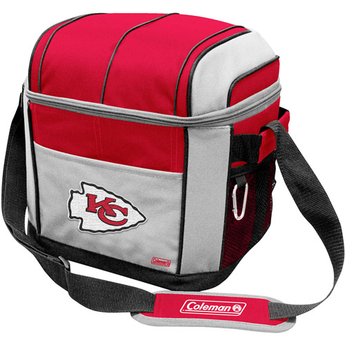 "Coleman 11"" x 9"" x 13"" 24-Can Cooler, Kansas City Chiefs"