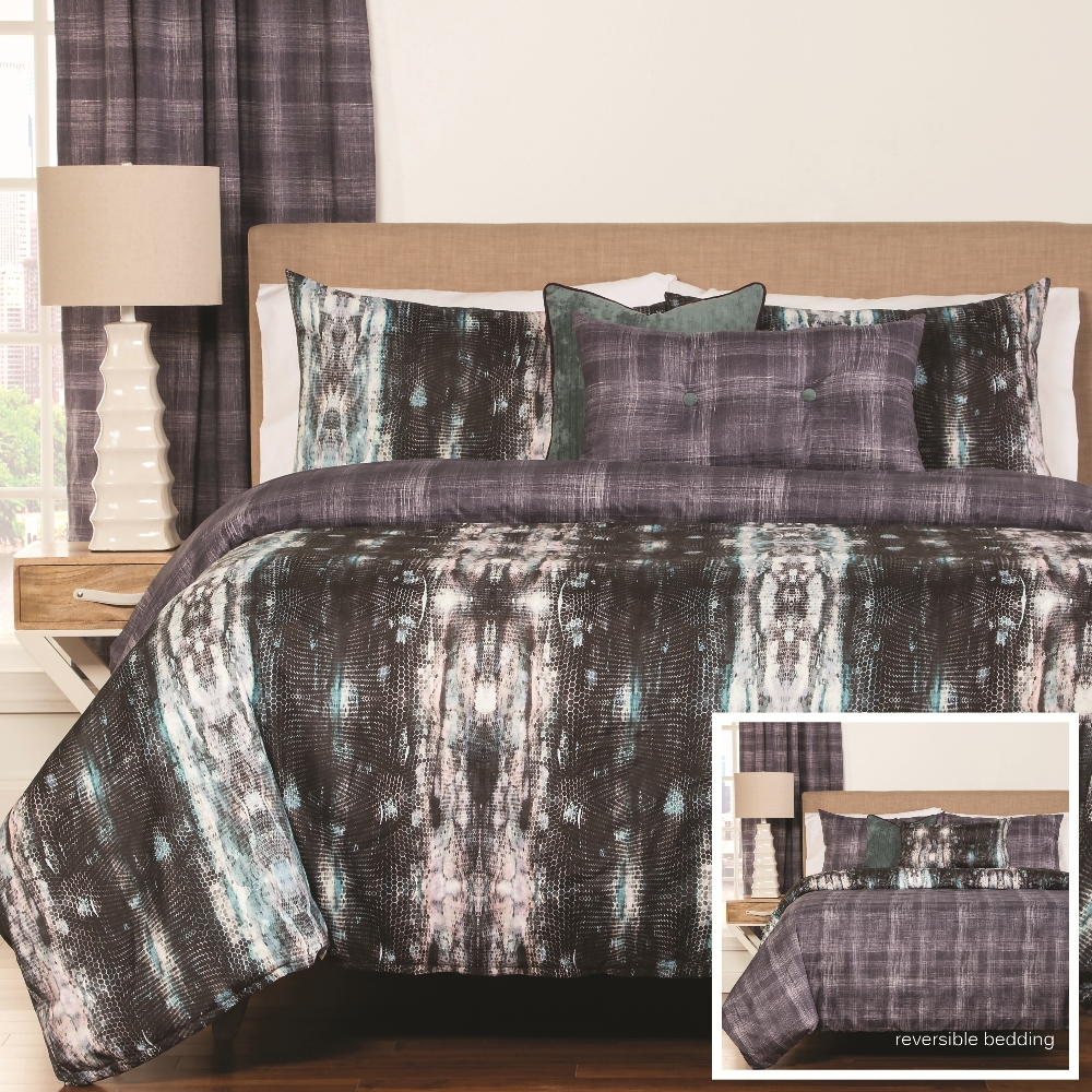 SIS Covers Python Duvet Set - (6 Piece King Duvet Set)
