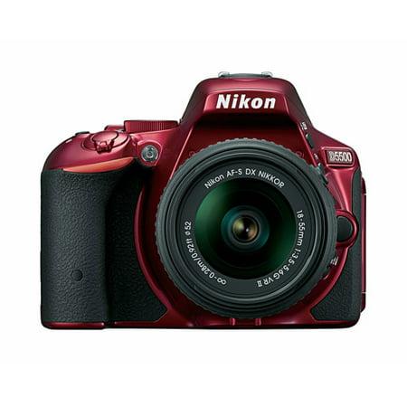 Nikon D5500 Digital SLR Camera with 24.2 Megapixels with 18-55mm VR II Lens Kit
