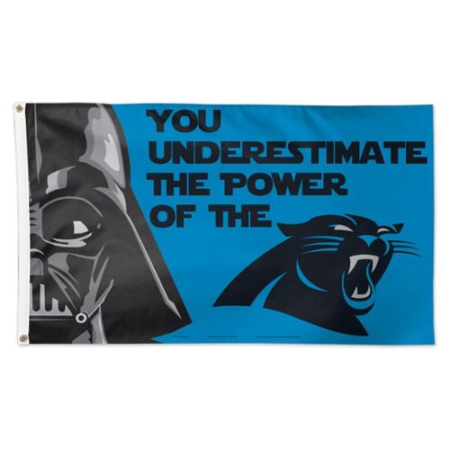 NFL Carolina Panthers Star Wars 3' x 5' Flag