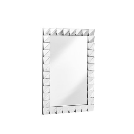 Elegant MR9154 Sparkle 33.5 In. Contemporary Rectangle Mirror In Clear
